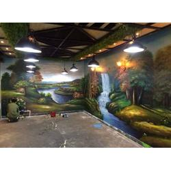 南昌手绘墙怎么收费|手绘墙装修|南昌手绘墙图片