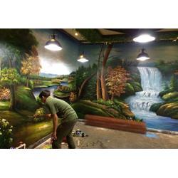 南昌墙绘哪家技术好、广告彩绘、南昌彩绘图片