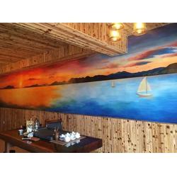 南昌壁画,墙体彩绘工期,明鑫苑墙体彩绘图片