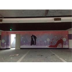 家装墙体彩绘-背景墙墙体彩绘-新建县墙体彩绘图片