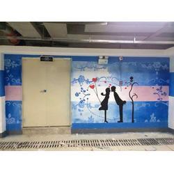 南昌墙绘每平多少钱、餐厅墙绘、上饶墙绘图片