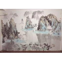 南昌墙体彩绘-墙体彩绘素材-红谷滩墙体彩绘图片