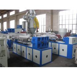 塑料型材生产线-青岛海天塑料机械-pet塑料型材生产线图片