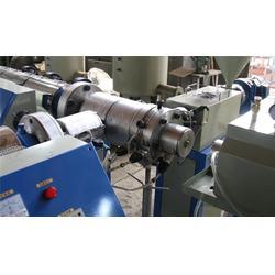 塑料型材生产线、青岛海天塑料机械、PET塑料型材生产线生产图片