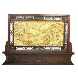 老手艺木雕造型多样,木雕屏风,东阳木雕屏风图片