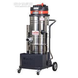 车间打扫卫生用大型工业吸尘器铁屑焊渣颗粒用强力吸尘器上下分离桶