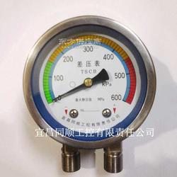 供应CB系列空气压差表,过滤器压差表图片