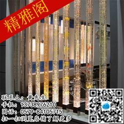 内雕柱|精雅阁水晶质量立足市场|内雕柱厂图片