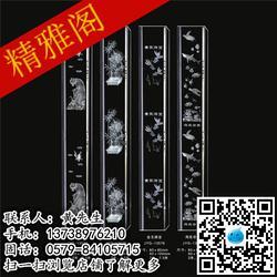 精雅阁激光内雕柱品质一流,激光内雕柱,金华精磨水晶柱图片