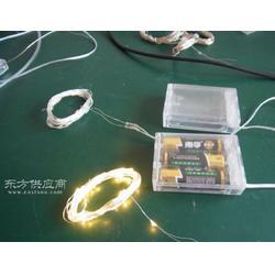 LED铜线灯串 电池盒铜线灯串 LED圣诞灯串 LED装饰灯串 4米40灯图片