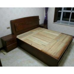 实木榻榻米床1.8米定做,太原实木榻榻米,澳科森实木家具图片