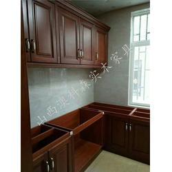 中式实木橱柜-实木橱柜-澳科森实木家具(查看)图片