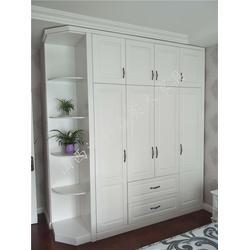 实木衣柜定制-澳科森-两门实木衣柜定制图片