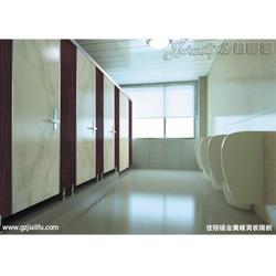 卫生间隔断材料、西安隆鑫隔断、卫生间隔断图片