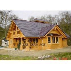公园休闲木屋厂家、木别墅供应、环保木屋图片