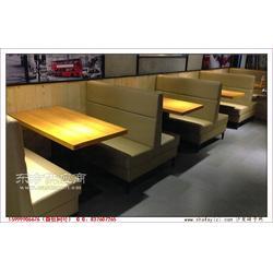 惠城港式餐厅家具,惠城区卡座沙发定做图片