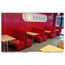 惠阳区美式炸鸡汉堡店卡座沙发图片