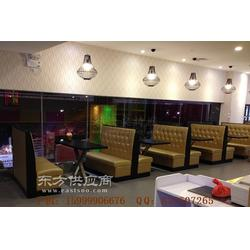 荔湾区茶餐厅家具定做,荔湾休闲卡座沙发组合图片
