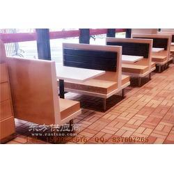 白云区快餐家具,白云快餐厅卡座桌子组合图片
