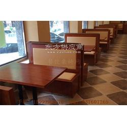 天河区中式饭店家具,天河实木卡座沙发定做图片