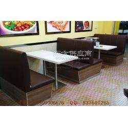 顺德快餐家具,顺德区快餐厅卡座桌子组合图片