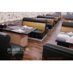 火锅店沙发桌子组合图片