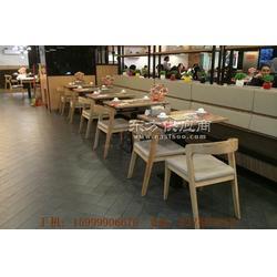 休闲茶餐厅桌椅沙发,宝口镇靠墙卡座沙发和桌椅组合图片