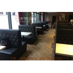 天河区西餐厅沙发,天河西餐厅家具定制图片