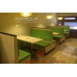 揭西快餐家具,揭西快餐厅卡座沙发定制图片