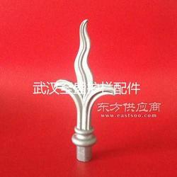 侯马韩式风格护栏配件栅栏配件-32方管内插矛头图片