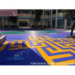 室外拼装地板,仕伯特室外拼装地板,幼儿园室外拼装地板报价图片