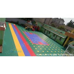 悬浮式幼儿园拼装地板、幼儿园拼装地板、仕伯特品牌(图)图片
