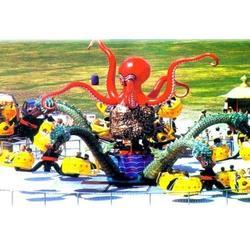 旋转章鱼01 章鱼 金山游艺设施(多图)图片