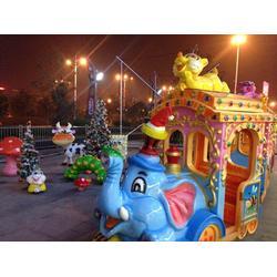 金山游艺设施、游乐设备大象火车、大象火车图片