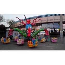 大型游乐设备、金山游艺设施、大型游乐设备大章鱼图片