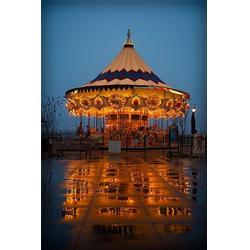 金山游艺设施(图),24座豪华旋转木马,豪华旋转木马图片