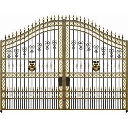 铝艺庭院门厂家|铝艺庭院门|好运来庭院门值得信赖(查看)图片