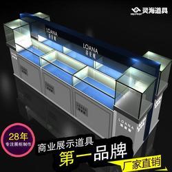 专业设计定制,连云港展示柜,品牌手表展示柜图片
