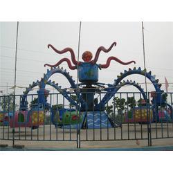 榆林旋转章鱼、金山游乐设备、旋转章鱼占地面积图片