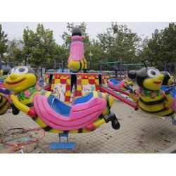 金山游乐设备、杭州弹跳蜜蜂、儿童游乐设施弹跳小蜜蜂图片