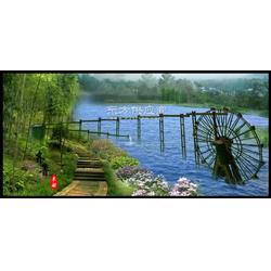 优质10米景观水车带水渠哪里可以生产图片