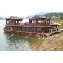 14米水上餐厅大型餐饮画舫船图片