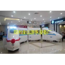 小火车_郑州金山游乐_无轨观光小火车图片