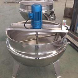 电加热夹层锅型号定做,广东电加热夹层锅,诸城天翔机械图片