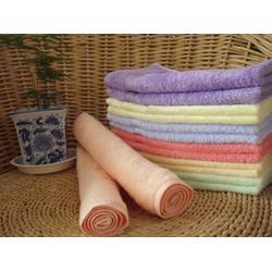 竹纤维童巾宝宝的佳选择、竹纤维童巾、汇佳纺织(图)图片
