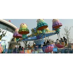 逍遥水母,郑州金山游乐设备厂,儿童游乐设备逍遥水母图片