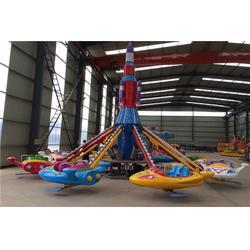 升降飞机,郑州金山游乐设备厂,旋转升降飞机图片