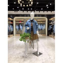 埃芙衣强势单品可米18年新款全均码牛仔外套折扣尾货图片