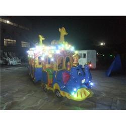 无轨大象火车多少钱_无轨大象火车_金山娱乐机械(查看)图片