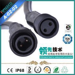 睿玛科,贵州防水连接器,两芯防水连接器图片